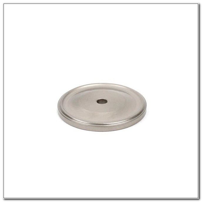 Nickel Backplates For Cabinet Knobs