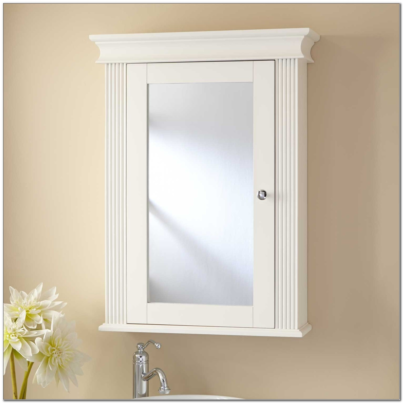 Non Mirrored Recessed Medicine Cabinets
