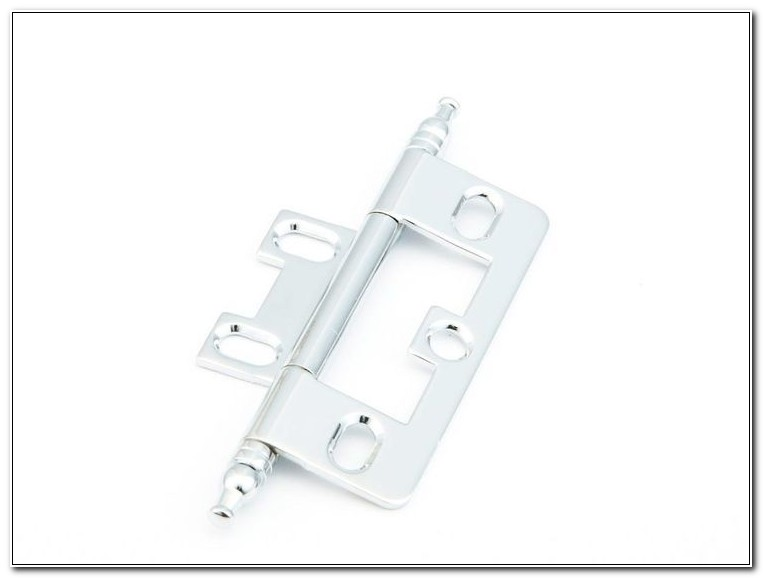 Non Mortise Cabinet Hinges Chrome