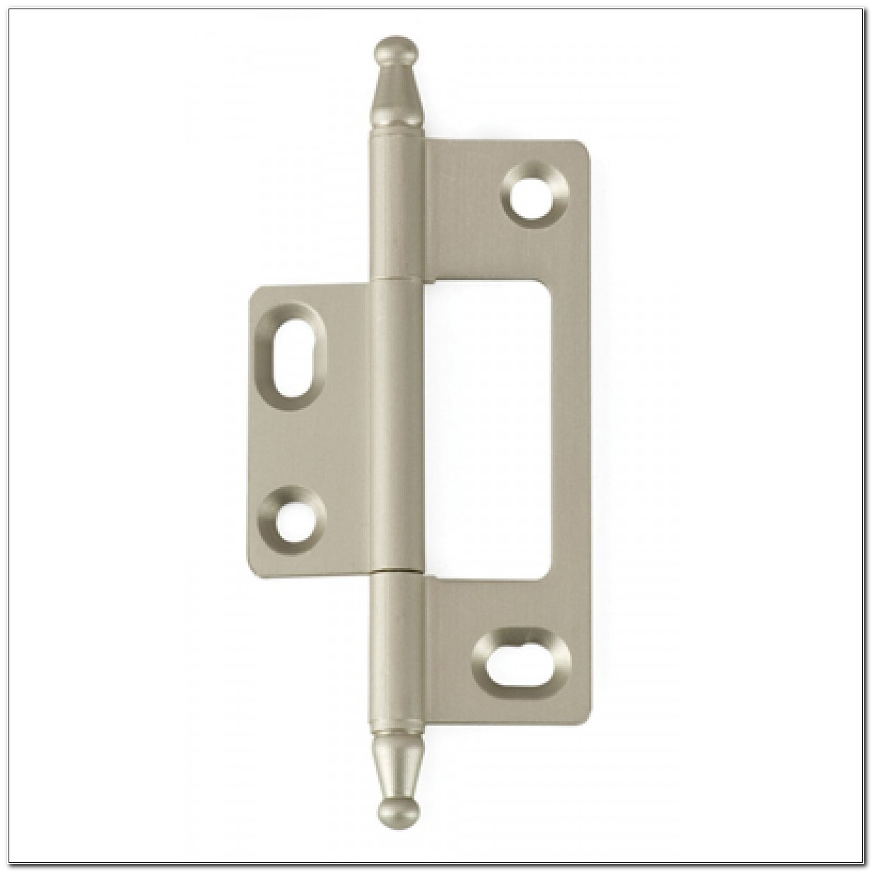 Non Mortise Cabinet Hinges Nickel