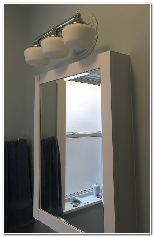 Non Recessed Medicine Cabinet Lights