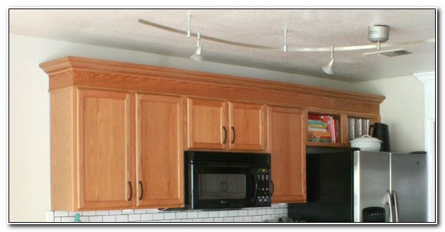 Oak Crown Molding For Kitchen Cabinets