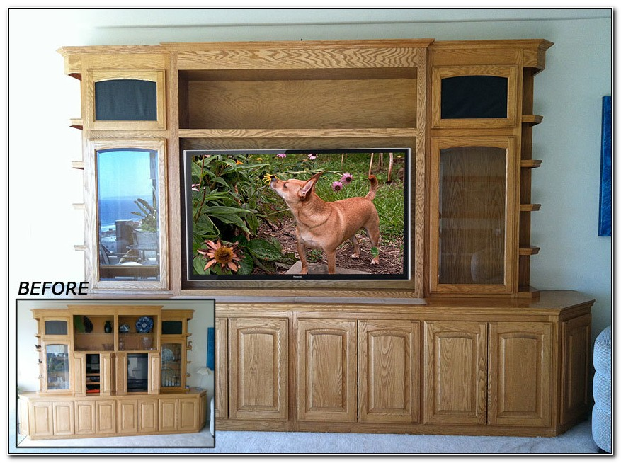 Oak Entertainment Cabinets And Units