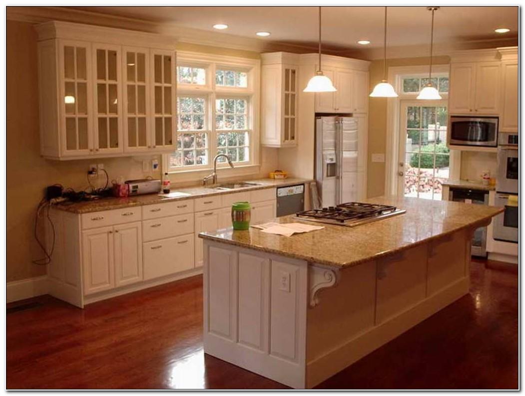 Oak Kitchen Cabinets Painted Antique White