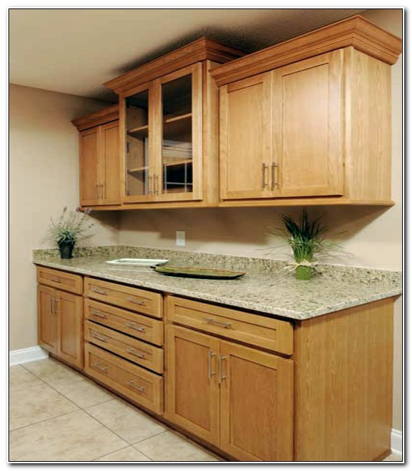 Oak Shaker Style Kitchen Cabinets