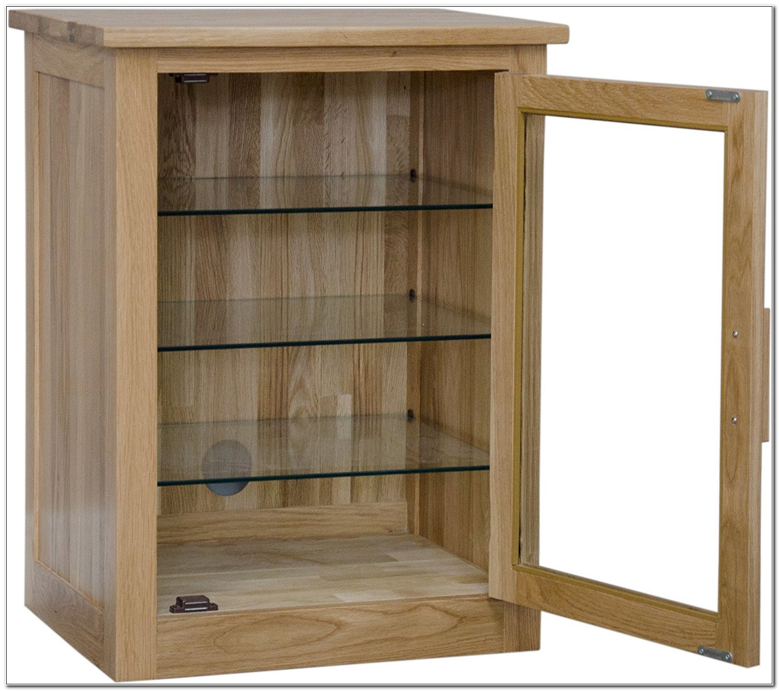 Oak Stereo Cabinet Furniture