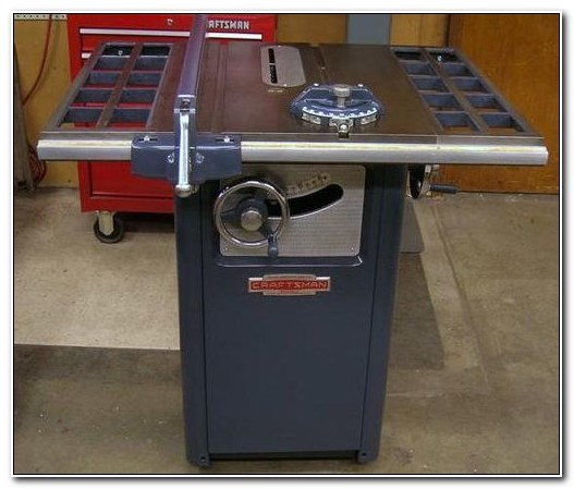 Old Craftsman Cabinet Table Saw