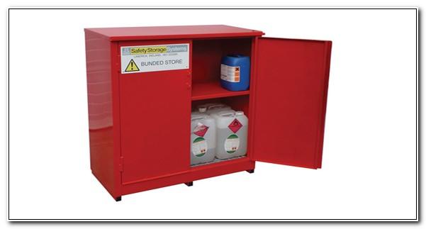 Outdoor Flammable Liquid Storage Cabinet