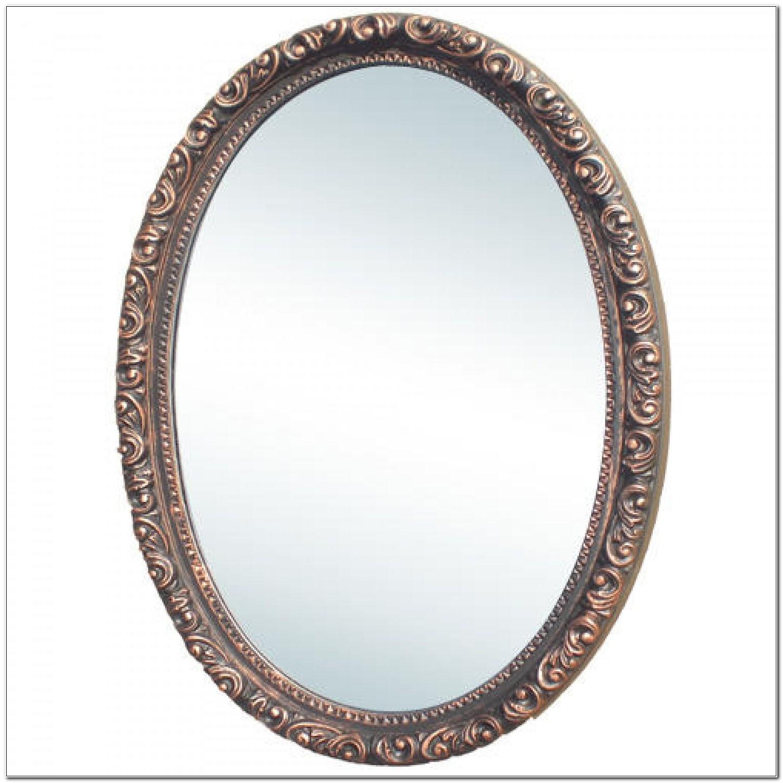 Oval Medicine Cabinet Mirror