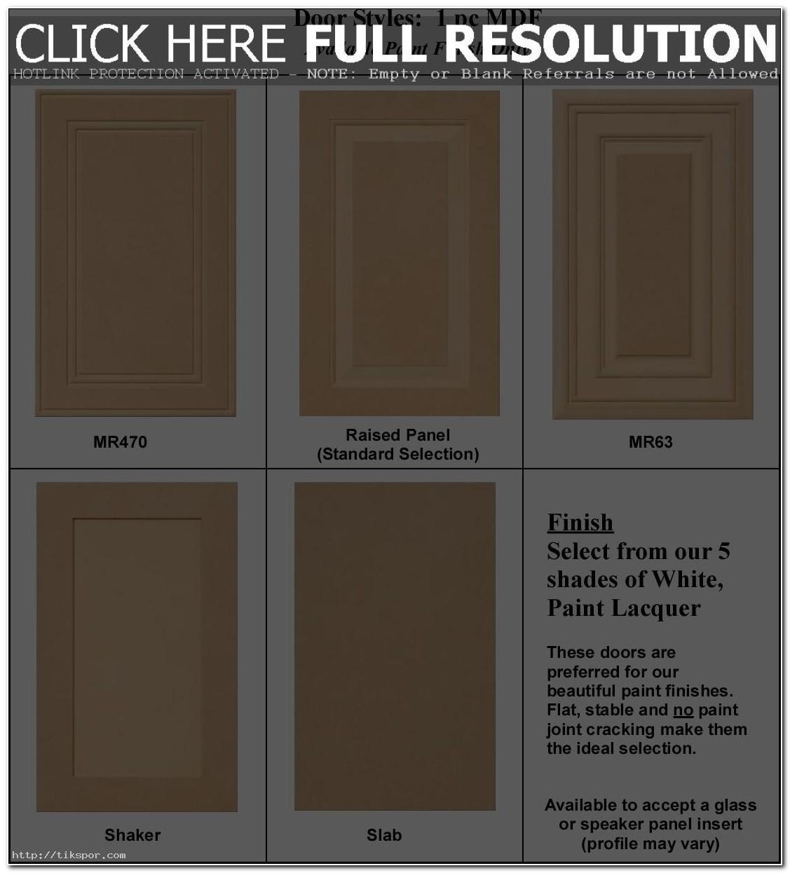 Paint Grade Cabinet Doors