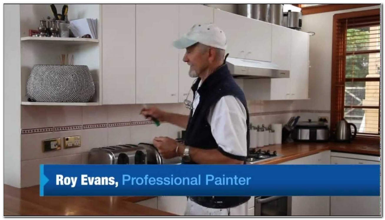 Paint Laminate Kitchen Cabinets Diy