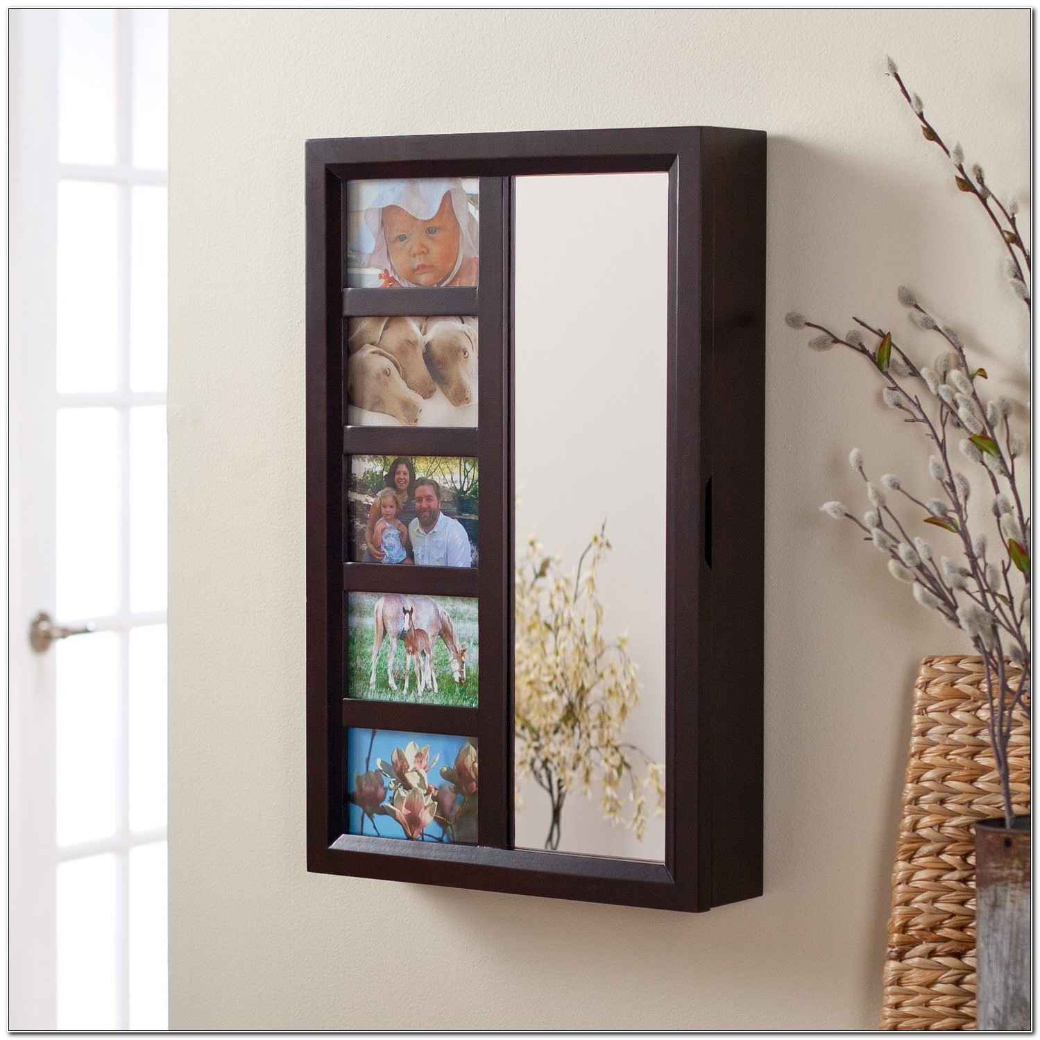 Picture Frame Jewelry Armoire