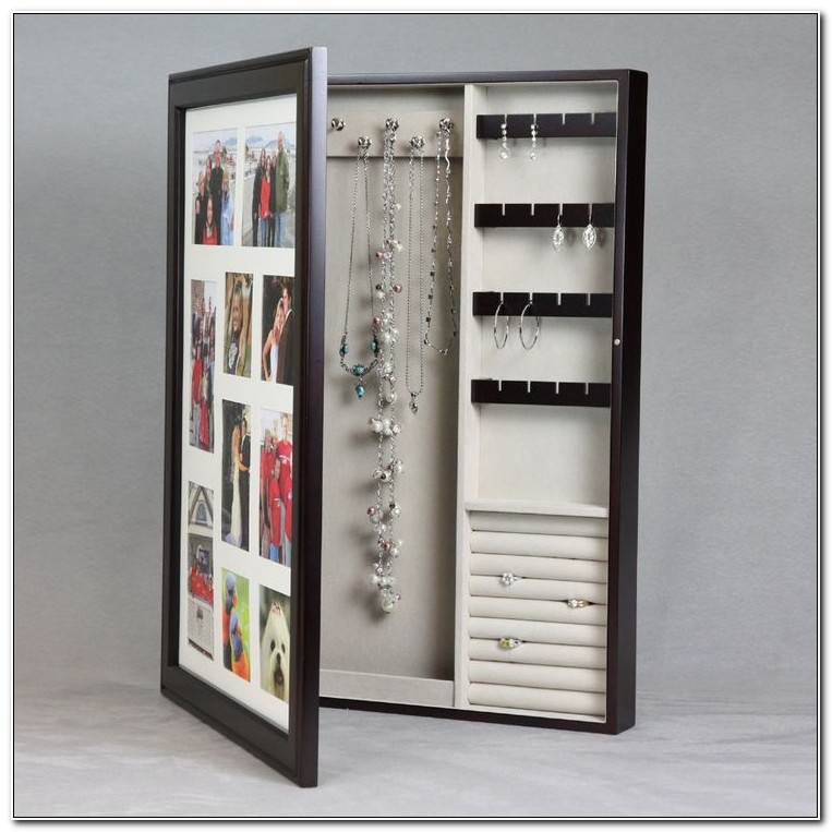 Picture Frame Jewelry Box Diy