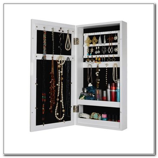Picture Frame Jewelry Box Wall