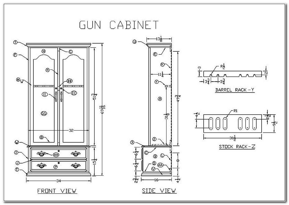 Plans For 10 Gun Cabinet