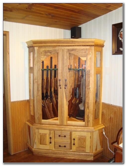 Plans For Corner Gun Cabinet
