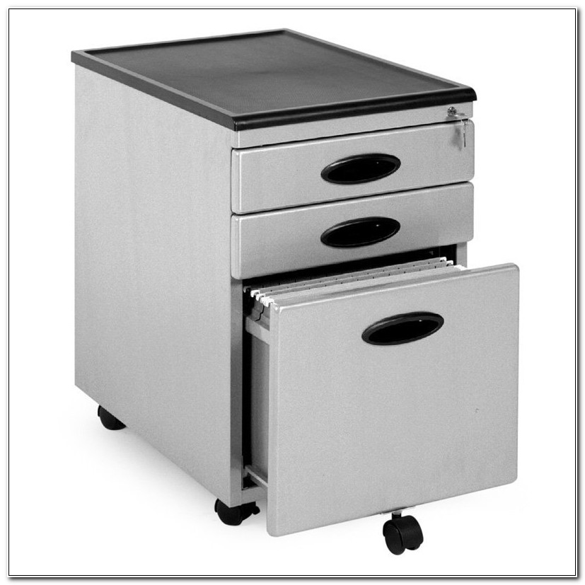 Plastic 2 Drawer File Cabinet On Wheels