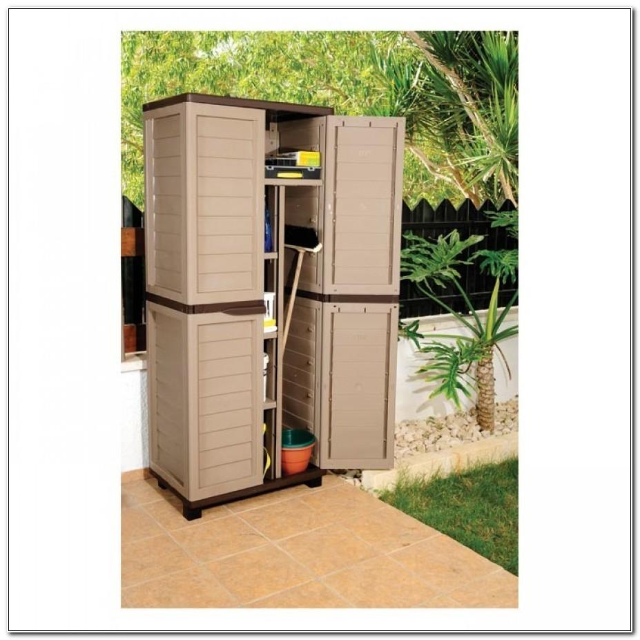 Plastic Garden Storage Cabinet