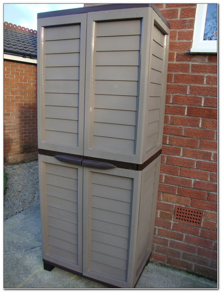 Plastic Garden Storage Cupboard Uk