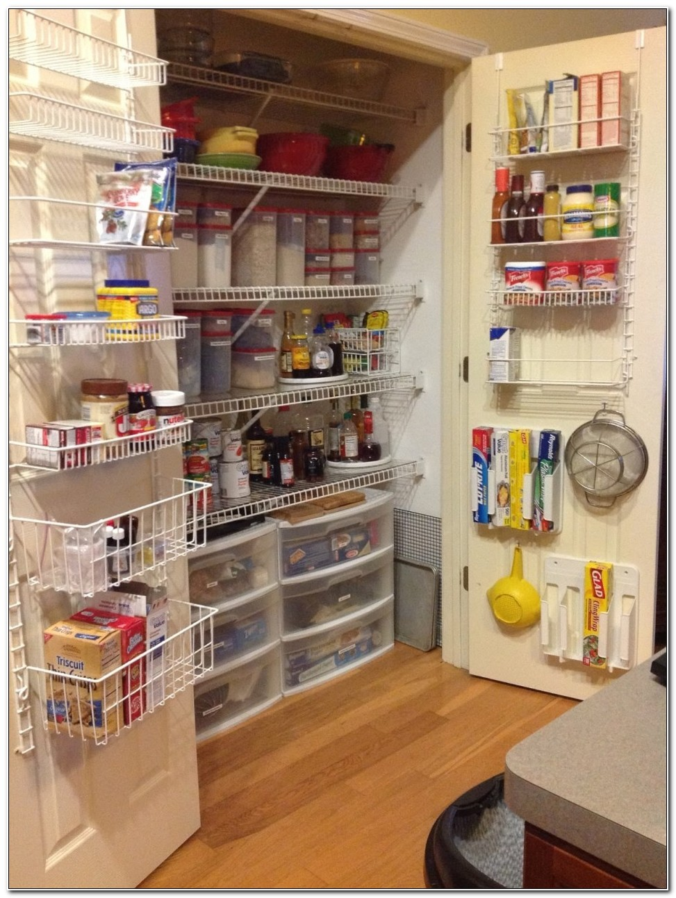 Plastic Kitchen Storage Cabinet