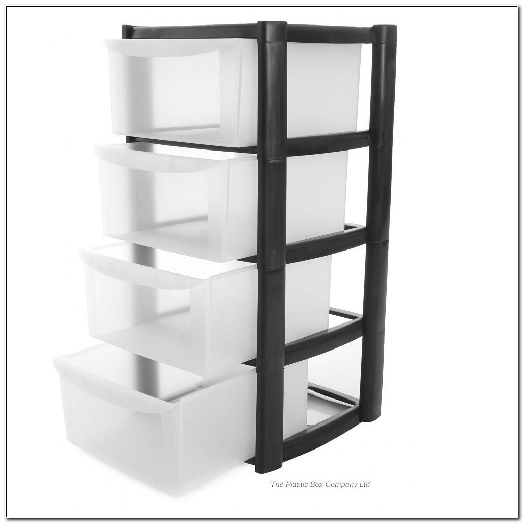 Plastic Storage Cabinets With Drawers