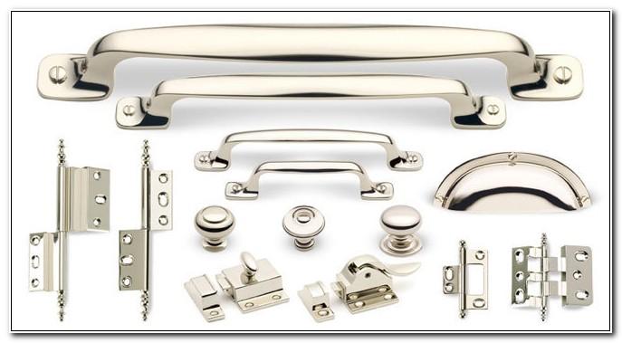 Polished Nickel Cabinet Door Knobs
