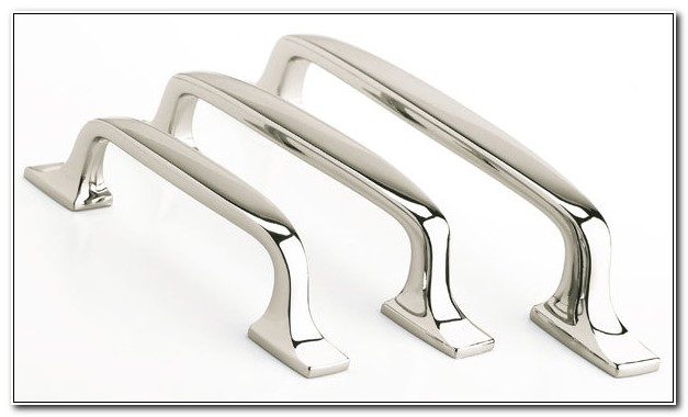 Polished Nickel Cupboard Handles