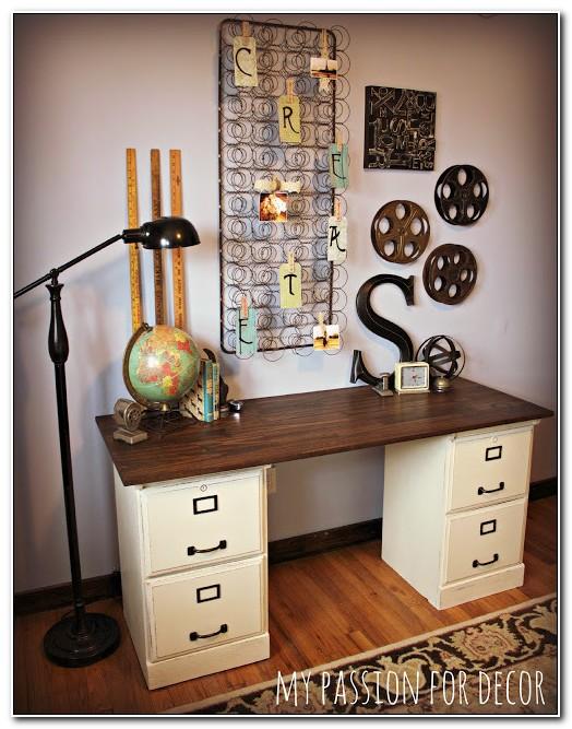 Pottery Barn File Cabinet Desk