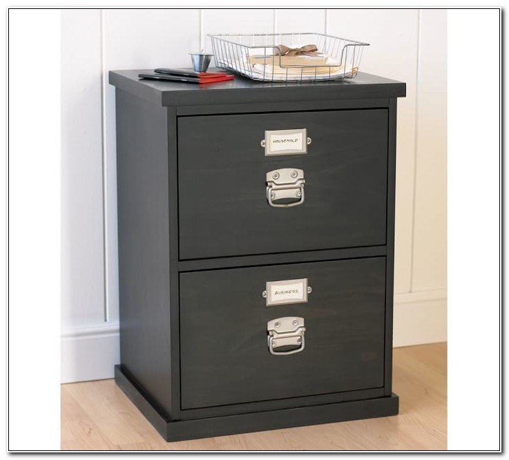 Pottery Barn Style File Cabinets