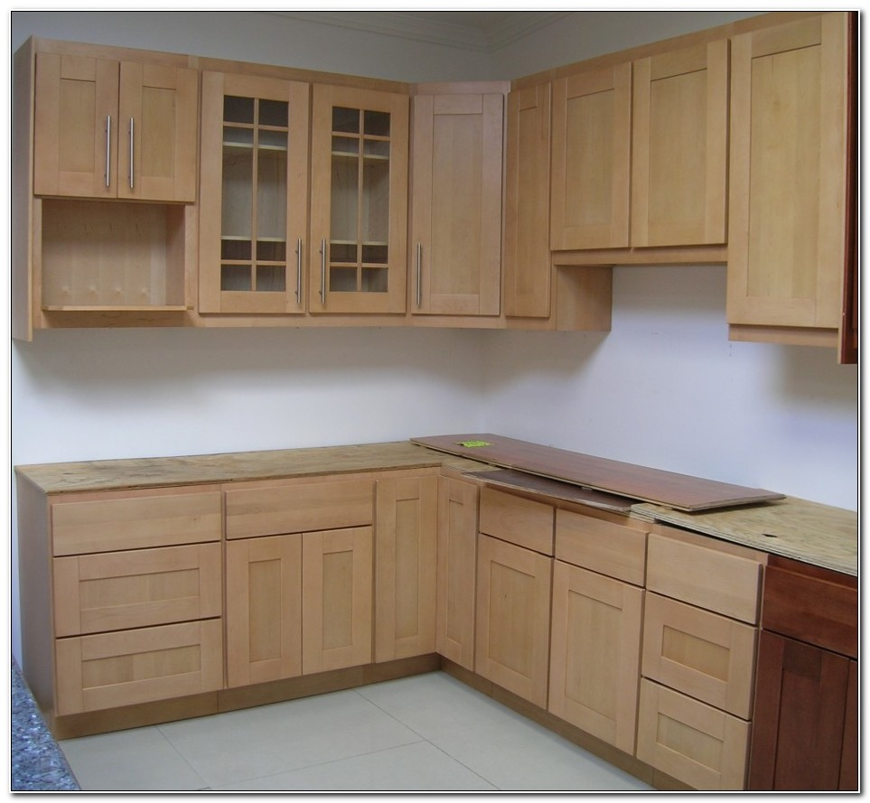 Pre Built Cabinets Home Depot