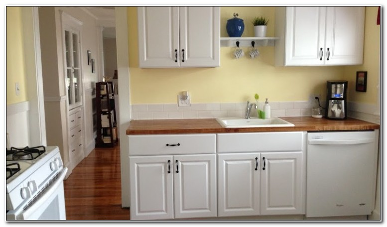 Pre Built Kitchen Cabinets Home Depot