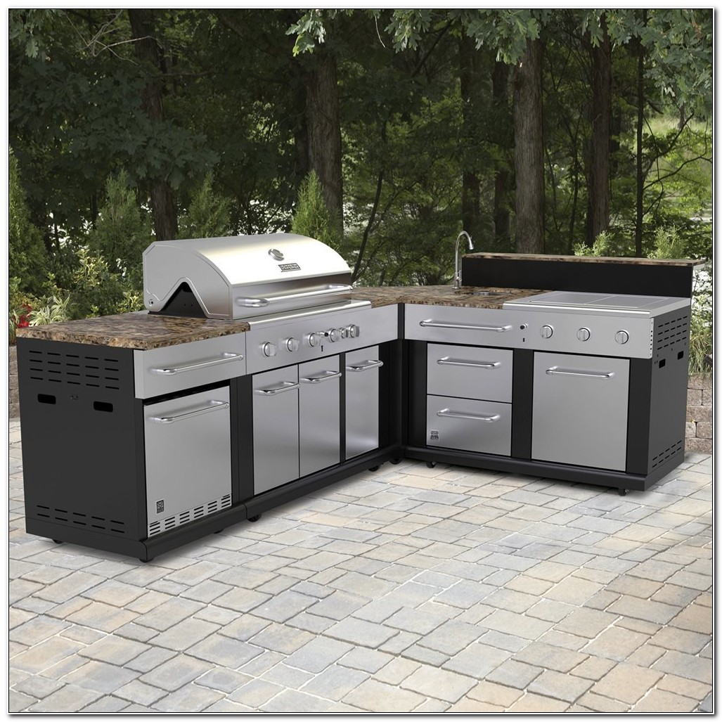 Prefabricated Outdoor Kitchen Cabinets Canada