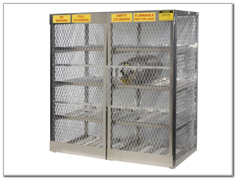 Propane Cylinder Storage Cages Cabinets