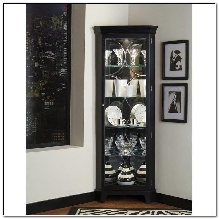 Pulaski Brittany Corner Curio Cabinet