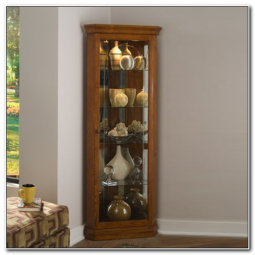Pulaski Corner Curio Cabinets