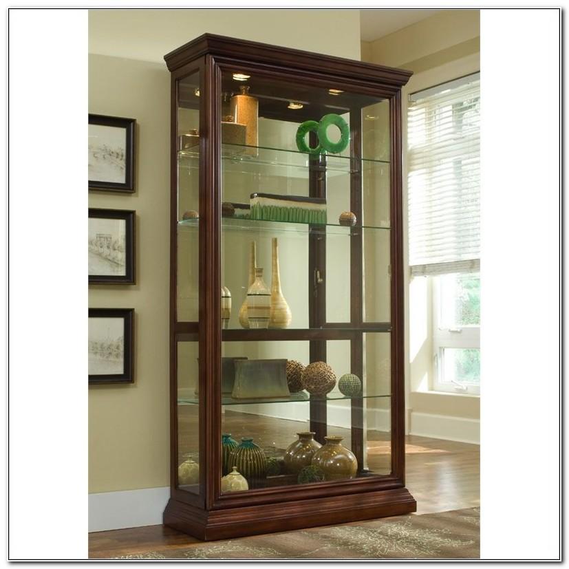 Pulaski Keepsakes Console Curio Cabinet