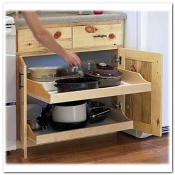 Pull Out Cabinet Shelf