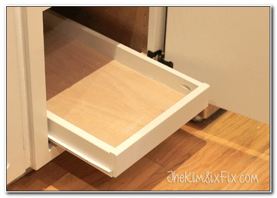 Pull Out Cabinet Shelves Diy
