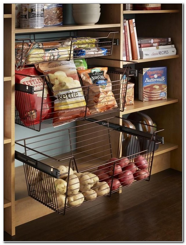 Pull Out Cupboard Baskets