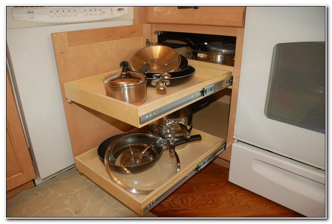 Pull Out Shelves For Blind Corner Cabinet