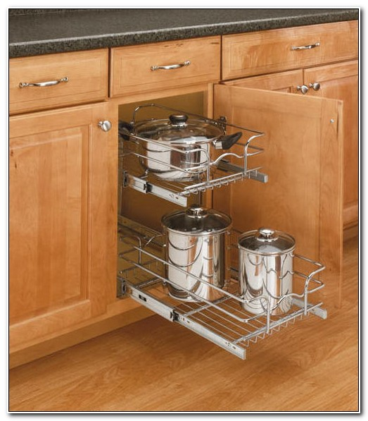 Pull Out Shelves Kitchen Cabinets Home Depot