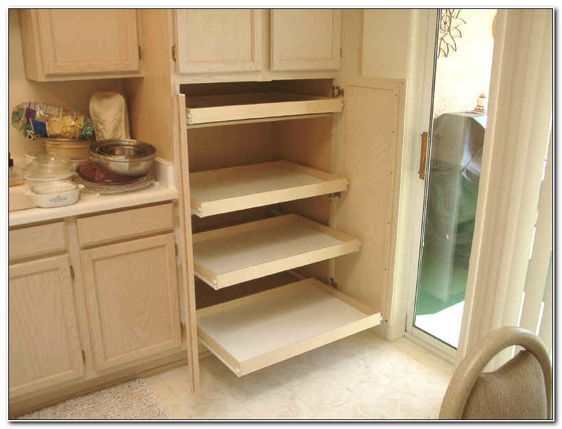 Pull Out Tray For Cabinets
