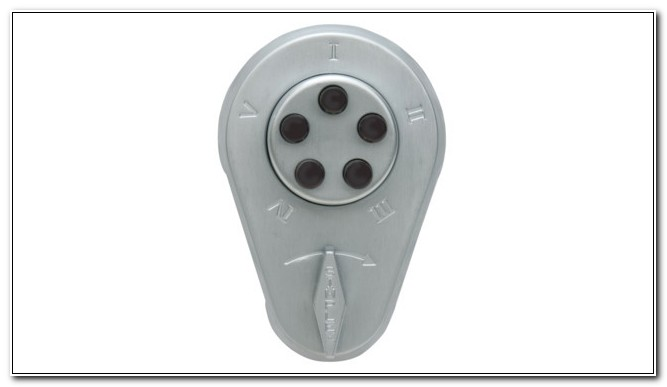 Push Button Combination Cabinet Locks