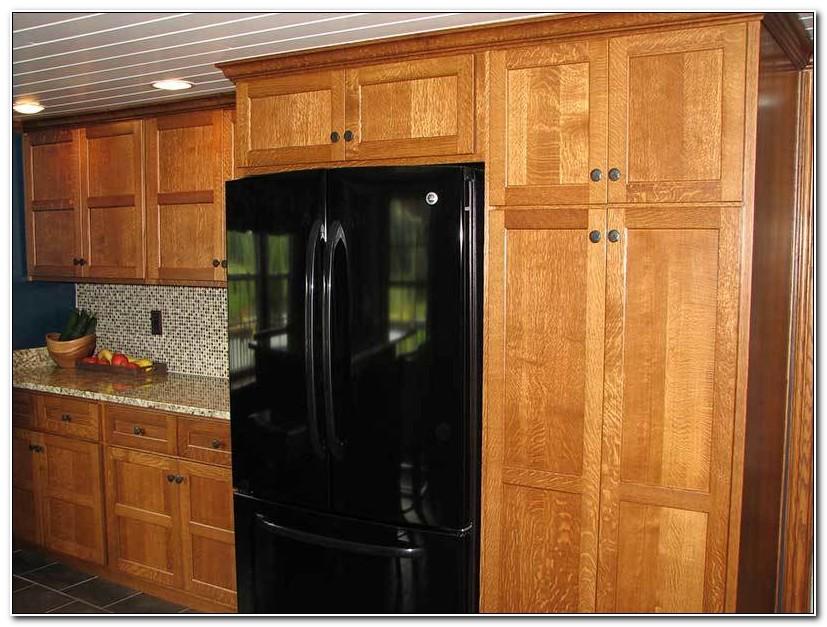 Quarter Sawn Oak Shaker Kitchen Cabinets