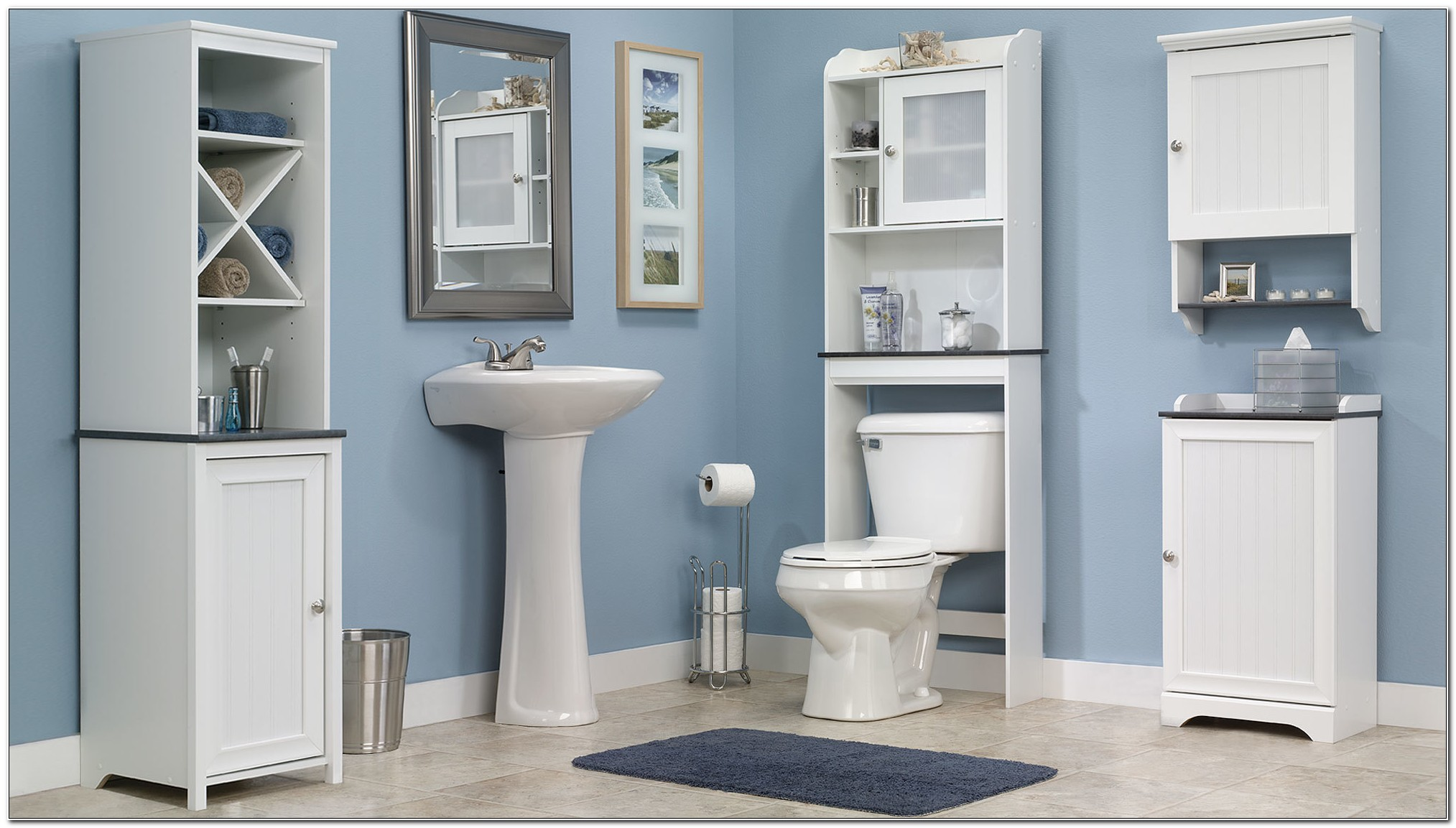Ready Assembled Free Standing Bathroom Cabinets