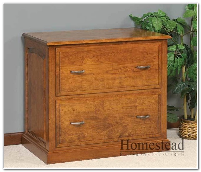 Real Wood Lateral File Cabinet
