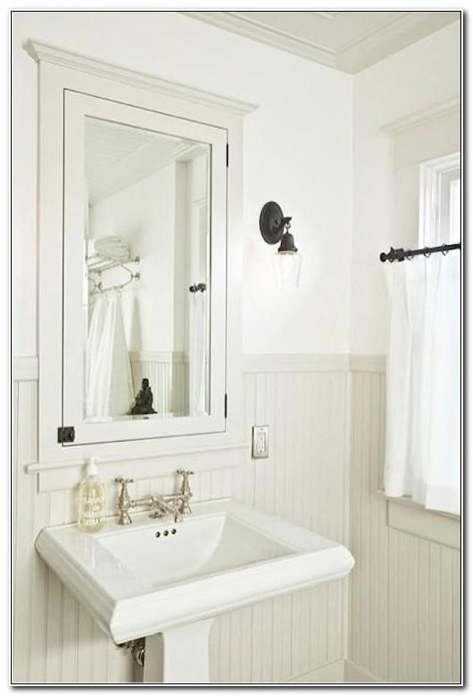 Recessed Bathroom Medicine Cabinet Ideas