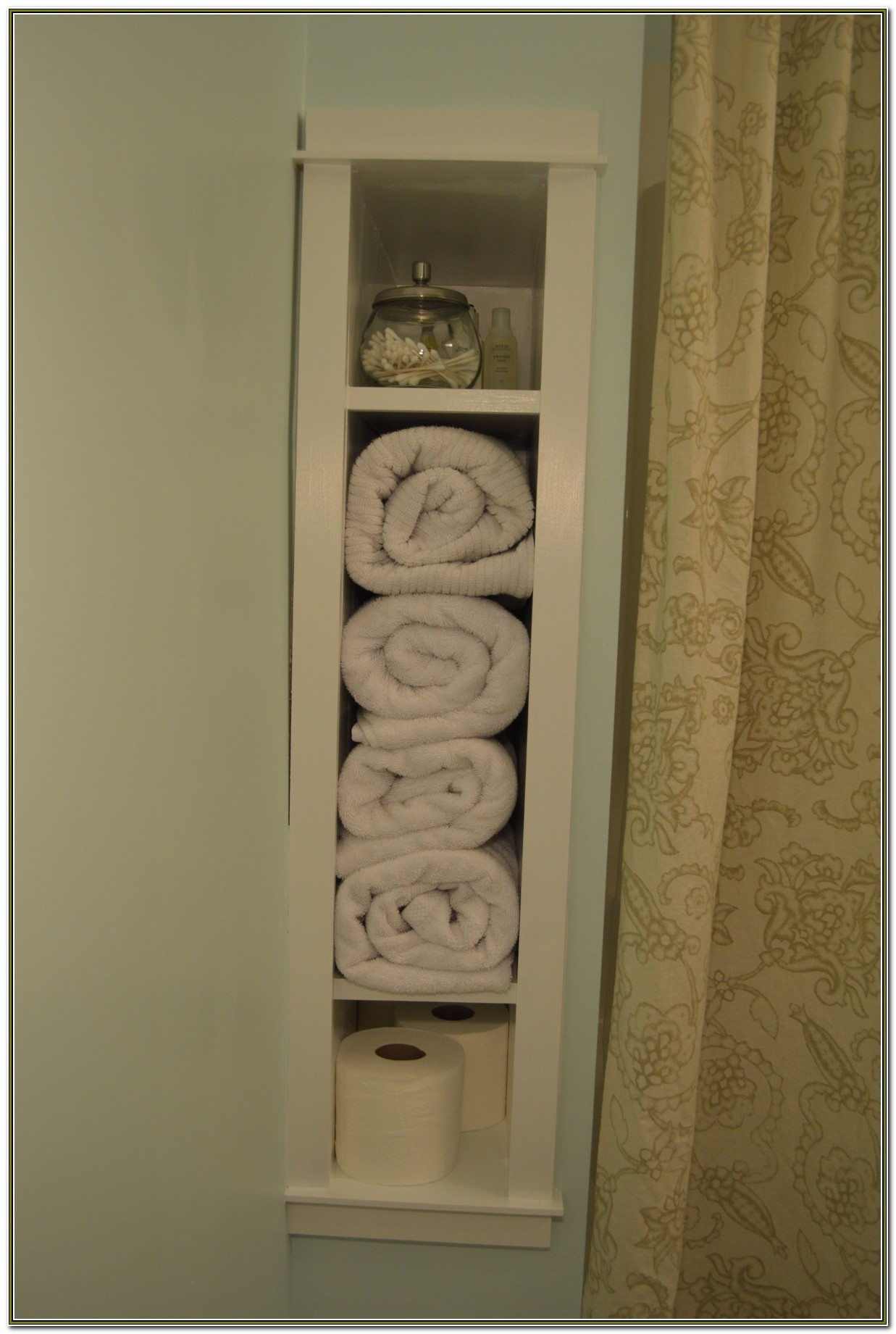 Recessed Cabinets In A Wall