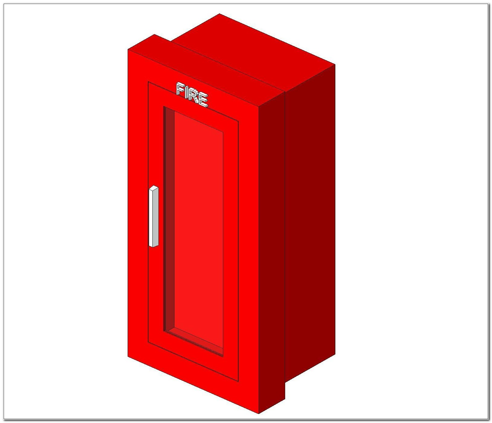 Recessed Fire Extinguisher Cabinet Revit