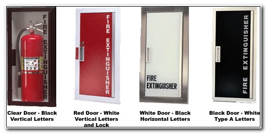 Recessed Fire Extinguisher Cabinet